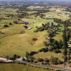 Mowbray Park Farm- From the Air