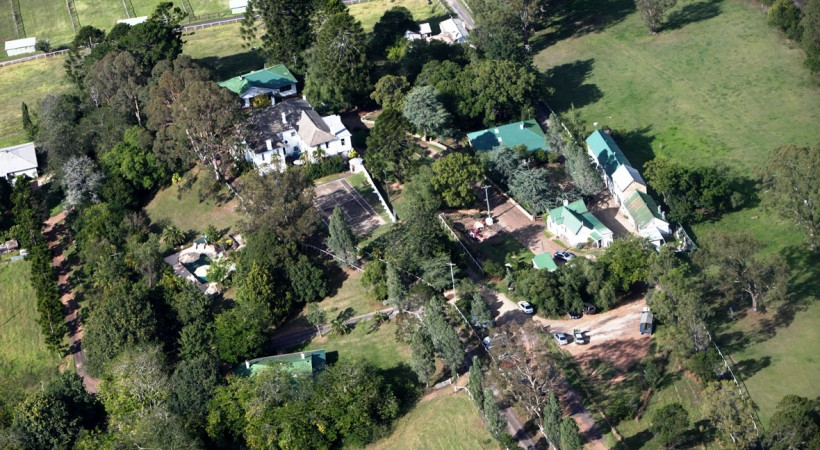 Homestead from Above